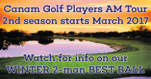 Canam Golf Players AM Tour - March 2017